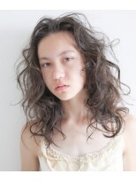 エトワール(Etoile HAIR SALON)外国人風ウェーブスタイル。