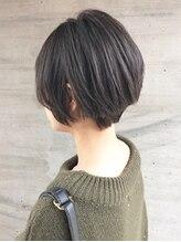 アッシュタカサキ(ash takasaki)ナチュラルショート × N.カラー最新グレージュ