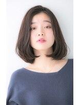 ユーフォリアギンザ(Euphoria GINZA)20代・30代・40代大人かわいい小顔韓国重めボブ黒髪前下がり
