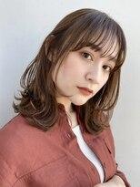 ガーデントウキョウ(GARDEN Tokyo)【GARDEN荒井夏海】ふんわりレイヤーロブ×小顔前髪