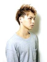 shinji x 前髪上げツーブロック