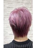 ジュピター 春日店(hair studio jupiter)ピンクパープルハイトーンカラー