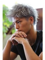 リップスヘアー 銀座(LIPPS hair)【LIPPS hair 銀座】#シルバーカラー#メンズ髪型 #銀座美容室
