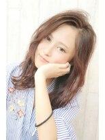 ピースナンバ(PEACE NAMBA)ナチュラルタイプ.愛されピンクブラウン/美女髪王子★シータ