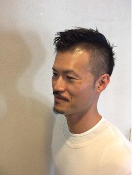 ネスト ヘアアンドメイク(nest Hair&Make)2ブロックソフトモヒカン