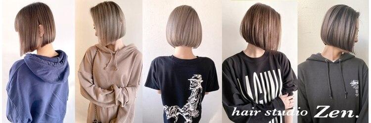 ヘアースタジオ ゼン(hair studio Zen)のサロンヘッダー