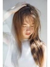 THROWカラーで透明感たっぷりの髪色に★ 【京都駅】