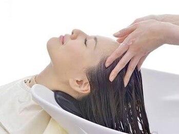 ケイズヘアー(K's hair)の写真/リラクゼーション効果抜群◎お客様一人一人に合ったアロマの香りをお選びいただけます!!