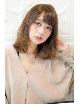 ガーデントウキョウ(GARDEN Tokyo)【GARDEN KOMAKI】眉毛ぎりぎり下ろし流し前髪ミディアム