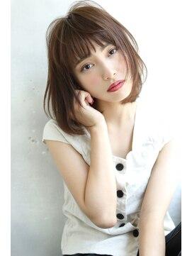 ブラン 目黒(Blanc)【Blanc/目黒】エッジショート/くびれセミディ/無造作カール