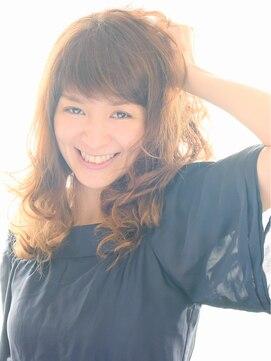 ヘアーサロン ラフリジー(Loufreasy)とびきりかわいい!ラフなフェミニンスタイル☆ミックスパーマ