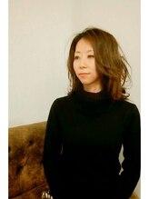 エソラ(esola)☆大人女性の冬色セミロング