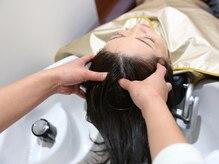 ヘア アンド スパ ミノルキ(hair and spa MInoruKI)の雰囲気(拘りの商材を使用したヘッドスパが自慢♪)