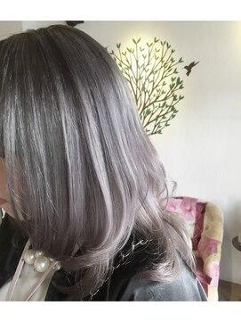 57ad48c780b ヘアーカラーサロン ノーチェ(Hair Color Salon noce) シースルー感抜群**スケルトン