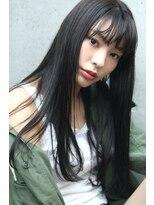 フェス カットアンドカラーズ(FESS cut&colors)パールグレ―ジュナチュラルストレート『FESS 鶴丸』