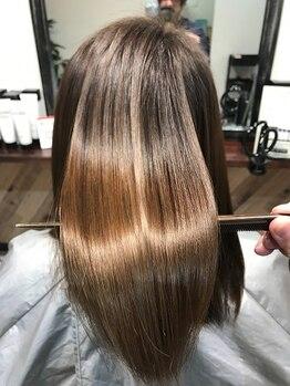 マチルダ ヘア プライベート(Matilda hair private)の写真/【藤井寺駅前】髪の広がり・うねりやダメージに◎丁寧なカウンセリングであなたに合ったメニューをご提供♪