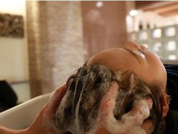 """ノル(nol hair&spa)の写真/""""本物志向のこだわり派に""""インドネシアのクリームバス◆マッサージ技術+専用のスパ空間で極上の癒しを提供"""