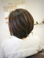 クール ヘアー ギャラリー 神明町店(COOL Hair gallery)ツヤフォルムボブ