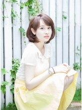 リノ ヘア 横浜西口店(RINO Hair)☆¥3400☆シンプルなお洒落ミディボブ☆