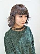 ヘアーライズ 池袋東口店(hair RISE)アナップインナーカラーパープルくすませカラー
