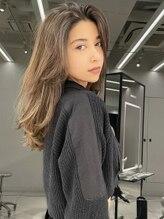シマ ハラジュク リープ(SHIMA HARAJUKU LEAP)smoky beige × Special highlight