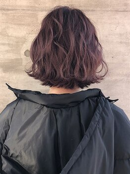 アッシュタカサキ(ash takasaki)の写真/パーマでモテヘア♪一人ひとりの髪質くせを見極めた施術でサロン仕上がりが長続き☆【ash 高崎】