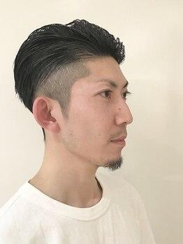 ラ ソレイル 浜松メイワン店の写真/【メンズカット+頭皮クレンジングSPA ¥5500】清潔感溢れるデキる男へ!!お疲れ頭皮を本格ケアで癒されて♪