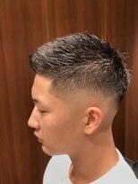 大流行フェードスタイル! 田町/三田/理容室/床屋/メンズヘア