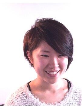 ヘアーカーブ(haircarve)haircarve2015!マニッシュ・サイドパートショート