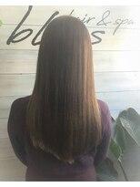 ブレス ヘアアンドスパ 湘南台(bless hair spa)大人女性 リフレクションロング 7歳若く見せます。