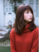 秋艶のチェリーピンク♪大人セクシーゆるかわパーマ☆
