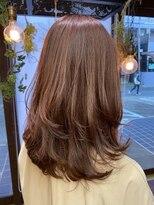 コレット ヘアー 大通(Colette hair)pink &orange