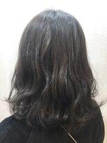 ヘアーアンドメイク ポッシュ 新宿店(HAIR&MAKE POSH)冬のグレーカラー