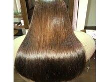 ケイリクス 加古川南店(CALYX)の雰囲気(ケイリクスおすすめのプレミアムカラー。染める度綺麗な髪に。)