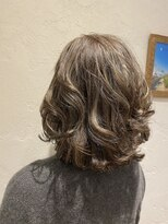 髪型 グレイヘア