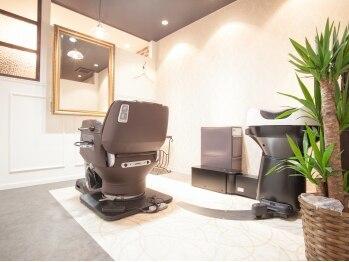 個室美容室 クラシック(Classic)の写真/全席シャンプー台付き個室!居心地良さ◎ちょっと贅沢な気分が味わえる4席のみの個室型ヘアサロン♪