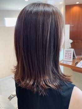 ローザシード(ROZA seed)の写真/ハイクオリティな施術&「なりたい」を叶える提案力☆デザイン理論に基づいたオリジナルの素敵な髪型を提供!