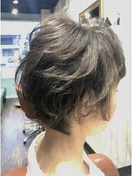 ネクサス ロット 八千代台店(NEXUS-Lot)の写真/カラーによるパサつき・気になる白髪のカバーもツヤ髪に仕上げます♪ツヤ髪カラーを体感して下さい!