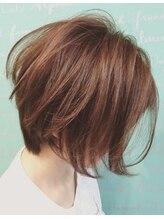 アトリエヘア マルク(atelier hair MALK)垢抜けショートヘアー