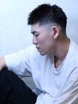 コンフィデンス メンズヘアー(confidence MEN'S HAIR)【ベリーショート×フェード】アウトローショート