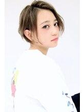 オプスヘアーフェリース(OPS HAIR feliz)ナチュラルワンカールボブ stylist 江上伸也