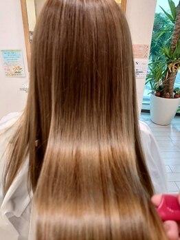アンカー(ANCHOR)の写真/JR八尾駅徒歩1分☆《髪質改善秘密のヘアメンテ》ダメージで固く傷んでしまった髪を扱いやすく美しく♪