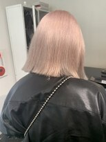 コード(KORD)【GUEST_STYLE】Pink Beige #ケアブリーチ#ダブルカラー