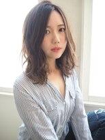 ヘアーブランド リンク 三宮店(HAIR BRAND Link)【Link】外ハネMIXのルーズミディ
