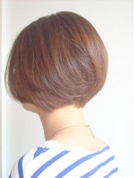 レユニオン(reunion hair)の写真/『傷み・気になる匂い、ヒリヒリがつらい』をorganicで解消!さらに傷みや荒れの元まで除去して仕上がり◎