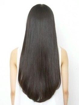 ロワ 京都(ROI)の写真/植物の力で髪に潤いを。髪と頭皮に優しい〈オーガニックノート〉取扱い◎手触りの良い柔らかな質感に。