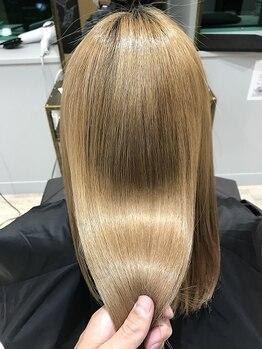 アトリエ タキ(atelier.taki)の写真/大人気★リピーター続出の髪質改善トリートメントエステ!髪のダメージにお悩みの方はご相談ください!