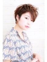 オーシャン ヘアアンドライフ(OCEAN Hair&Life)[OCEAN Hair&Life]大人可愛い☆毛先パーマ☆ベリーショート☆