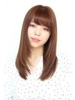 ヘアーメイク リアン 新田辺店(Hair Make REAN)◆REAN 京田辺/新田辺◆厚めバング大人かわいいストレート