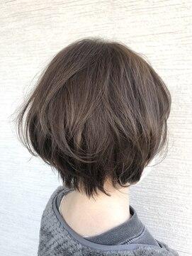 グランヘアー 神居店(GRAN HAIR)【GRAN HAIR 神居店】骨格補正!オトナ可愛いショートスタイル